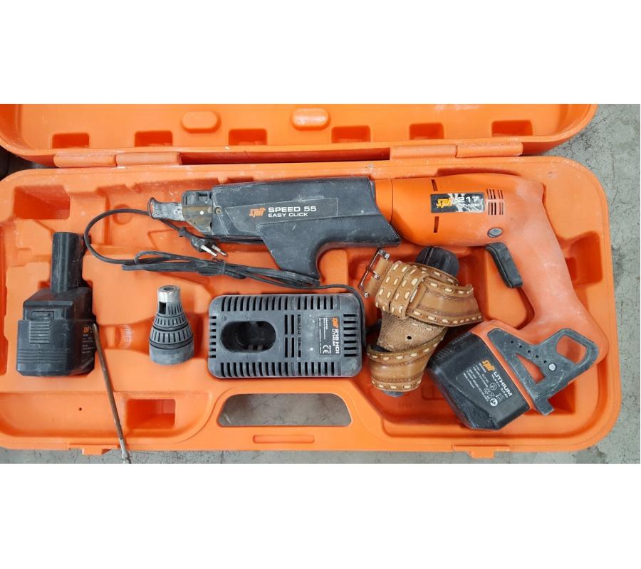 Visseuse plaque de pl tre sans fil spit 217 avec for Plaque de platre sans bande
