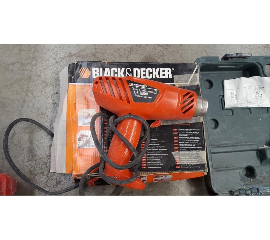 D capeur thermique black decker 1800 w - Decapeur thermique black et decker ...