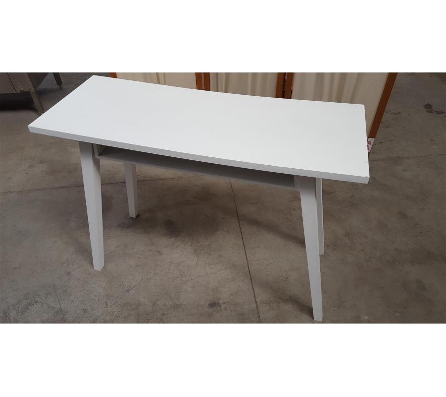 petite table haute en bois blanc. Black Bedroom Furniture Sets. Home Design Ideas