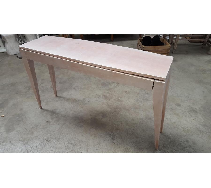 Petite table en bois 3 tiroirs for Petite table en bois