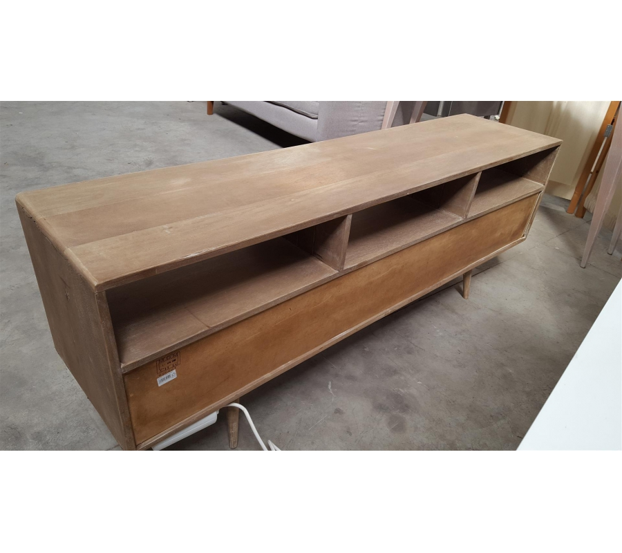 Petit meuble bas en bois 3 tiroirs for Petit meuble bois a tiroir