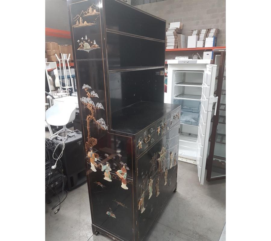 armoire style asiatique 2 portes sans cl 233 3 tiroirs faillites info