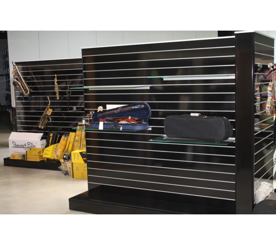 modules tag res en bois laqu noir. Black Bedroom Furniture Sets. Home Design Ideas