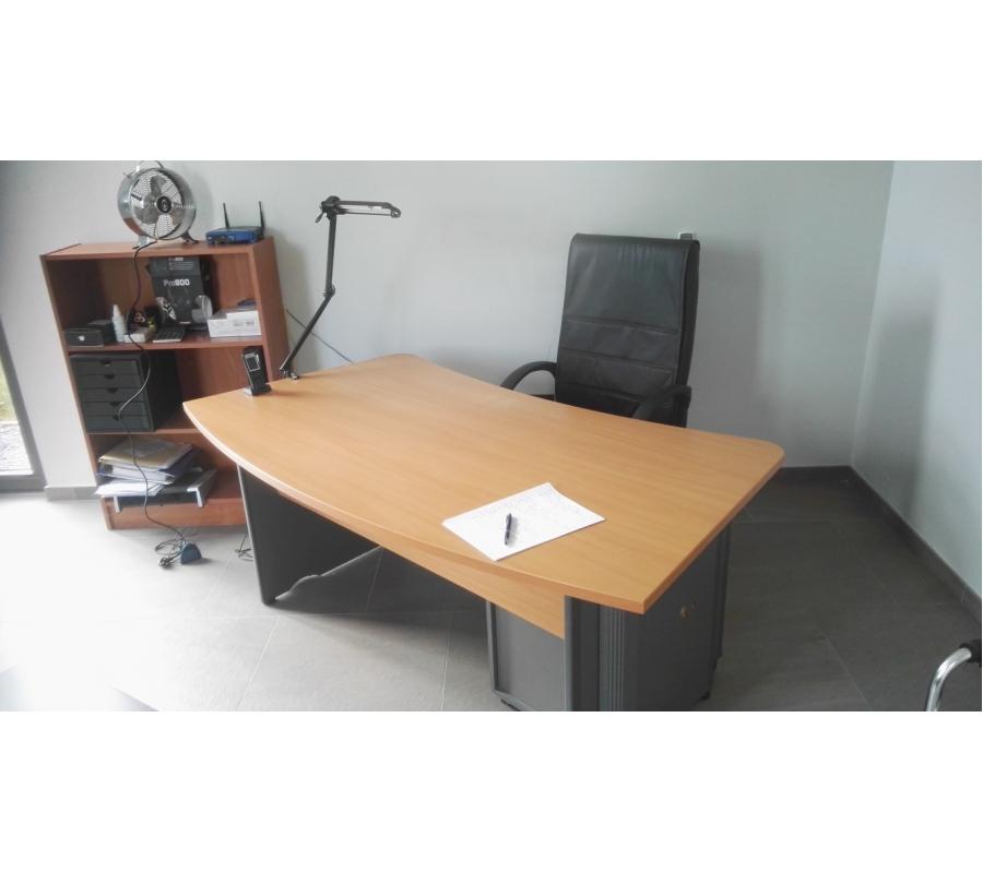 Bureau complet fauteuil 2 places for Bureau 2 places
