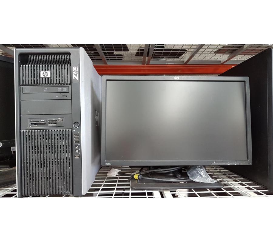Ordinateur HP Z420 avec 2 écrans HP 20'' | Faillites info
