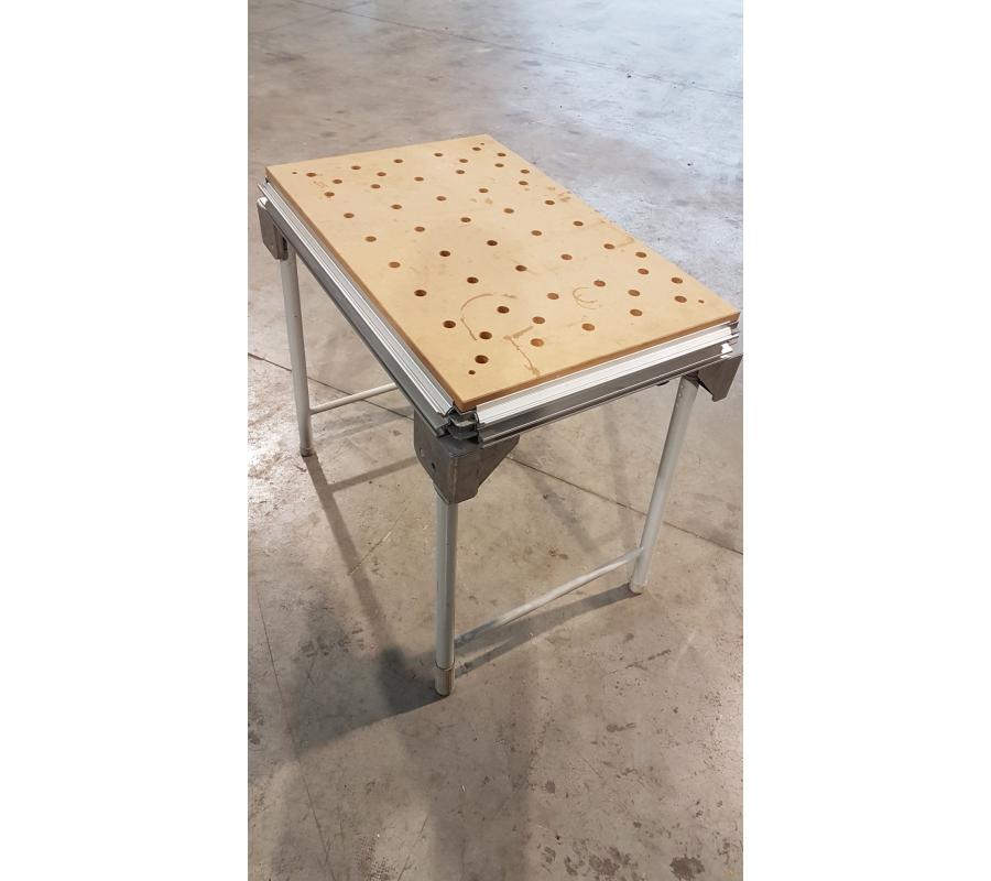 table de travail repliable festool. Black Bedroom Furniture Sets. Home Design Ideas