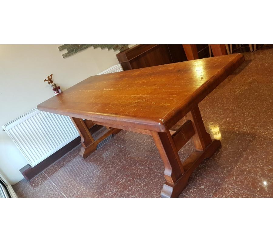 grande table en bois 80x200cm. Black Bedroom Furniture Sets. Home Design Ideas