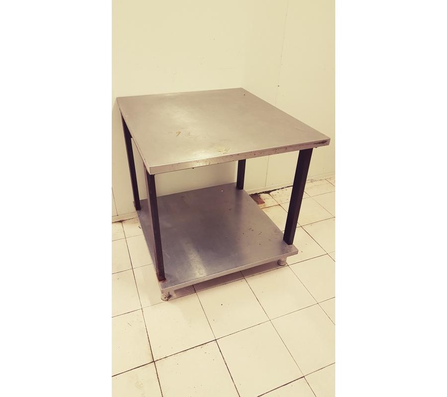 table m tallique 70x80cm. Black Bedroom Furniture Sets. Home Design Ideas