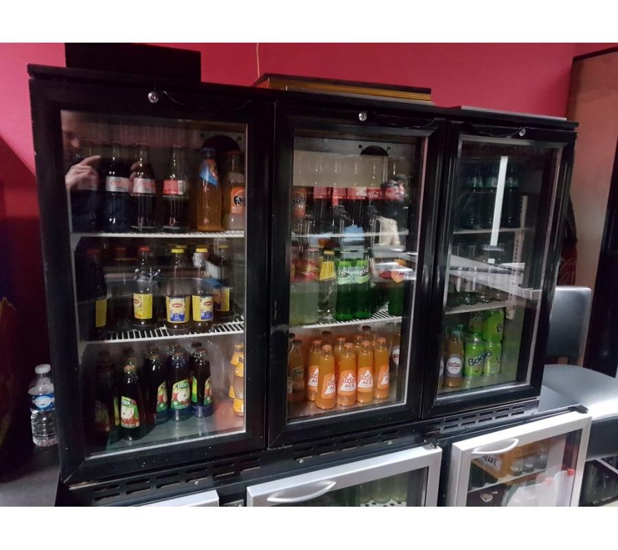 frigo vitr 3 portes cold equip. Black Bedroom Furniture Sets. Home Design Ideas