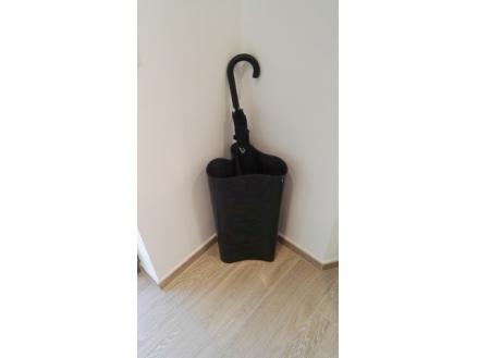 Porte parapluie caisson noir for Porte parapluie
