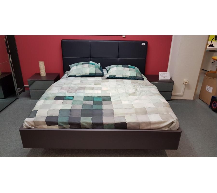 lit complet 2 personnes avec sommier matelas. Black Bedroom Furniture Sets. Home Design Ideas