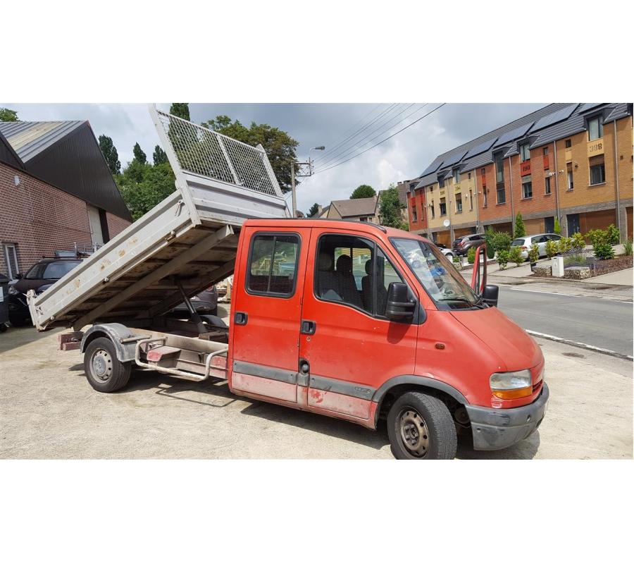 camionnette renault t35 avec benne basculante. Black Bedroom Furniture Sets. Home Design Ideas